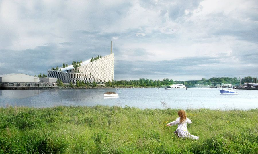 Ski slope to open on new Copenhagen power plant