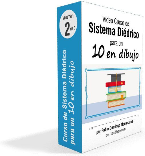 video curso sistema diedrico volumen 2 de 3